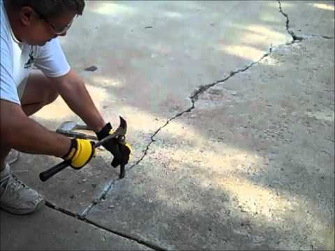 Concrete crack repair in driveway gardening pinterest concrete crack repair in driveway solutioingenieria Image collections
