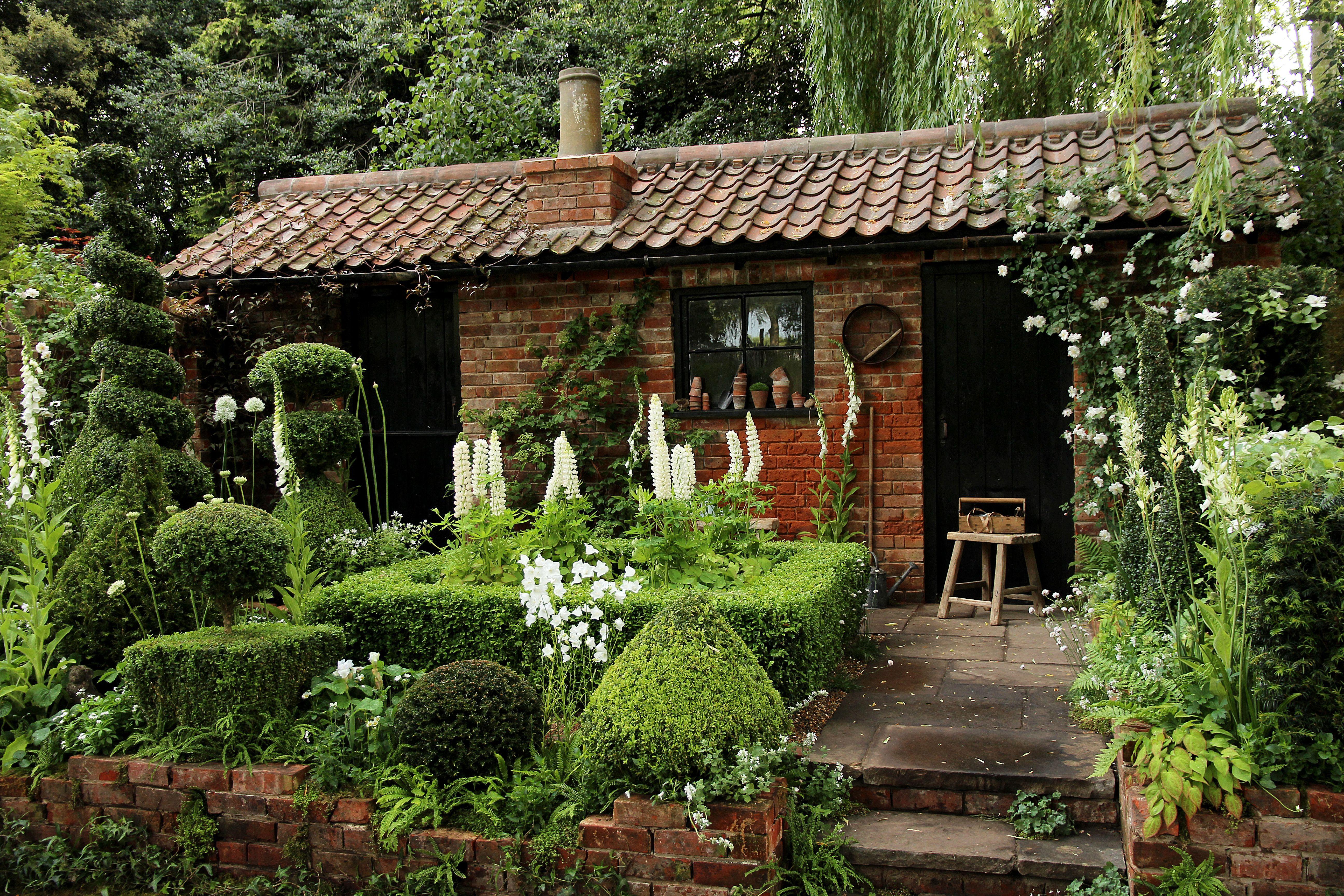Fabulous Voorbeelden tuin: cottage tuin voorbeeld. | kleine tuin in 2018 @NN66