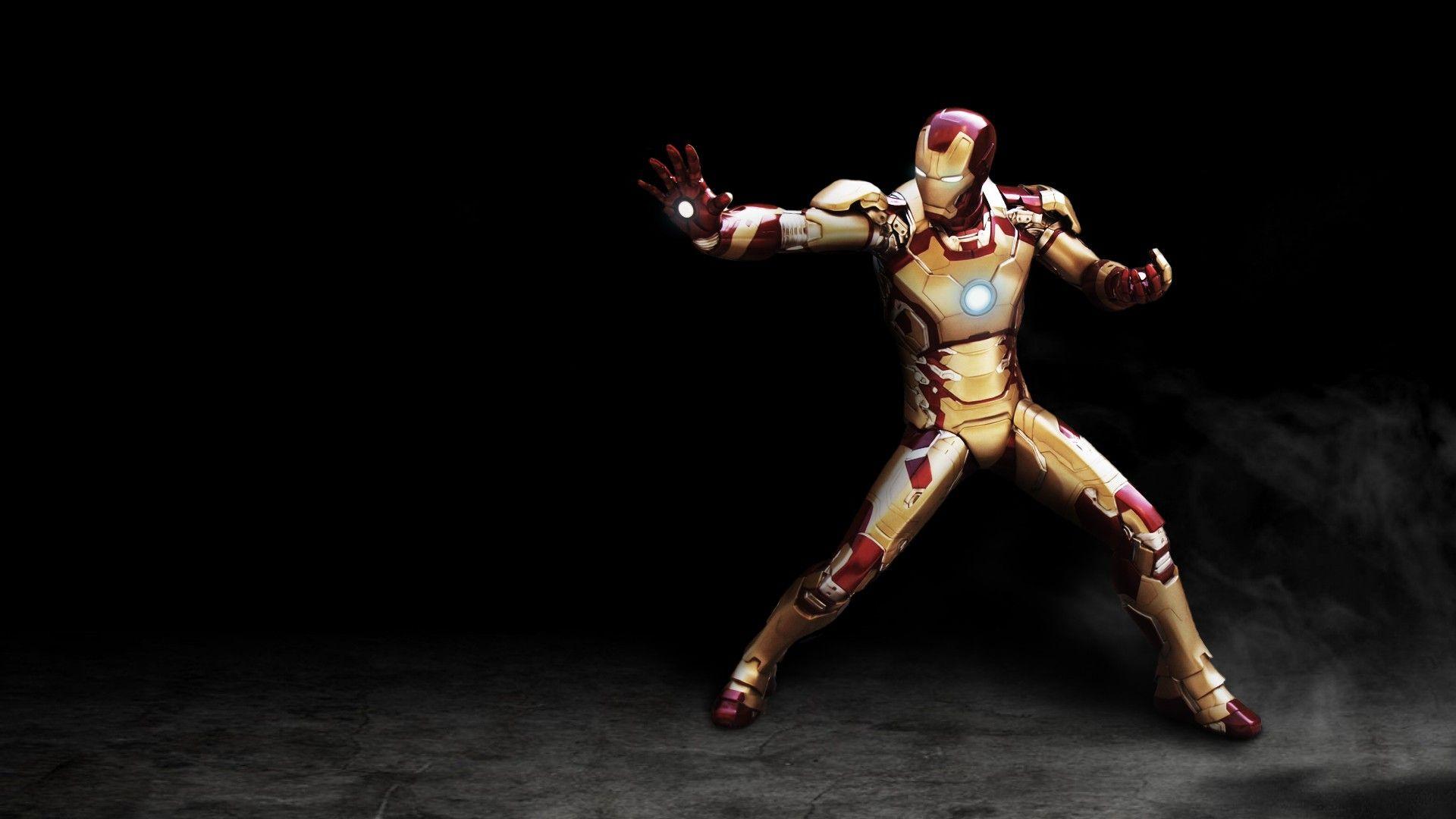 Mark 42 Iron Man 3 Background Hd Wallpaper Things To Wear Iron