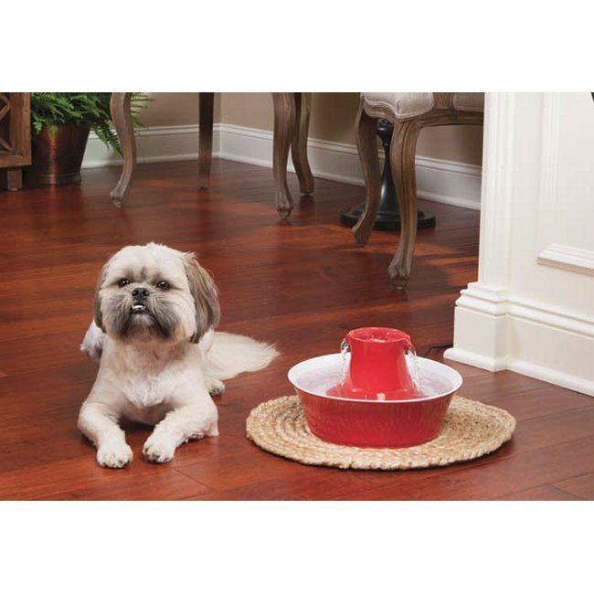 Pooch Pet Products  - Drinkwell Avalon Stoneware Pet Fountain, $79.95 (http://www.4poochtreats.com/drinkwell-avalon-stoneware-pet-fountain/)