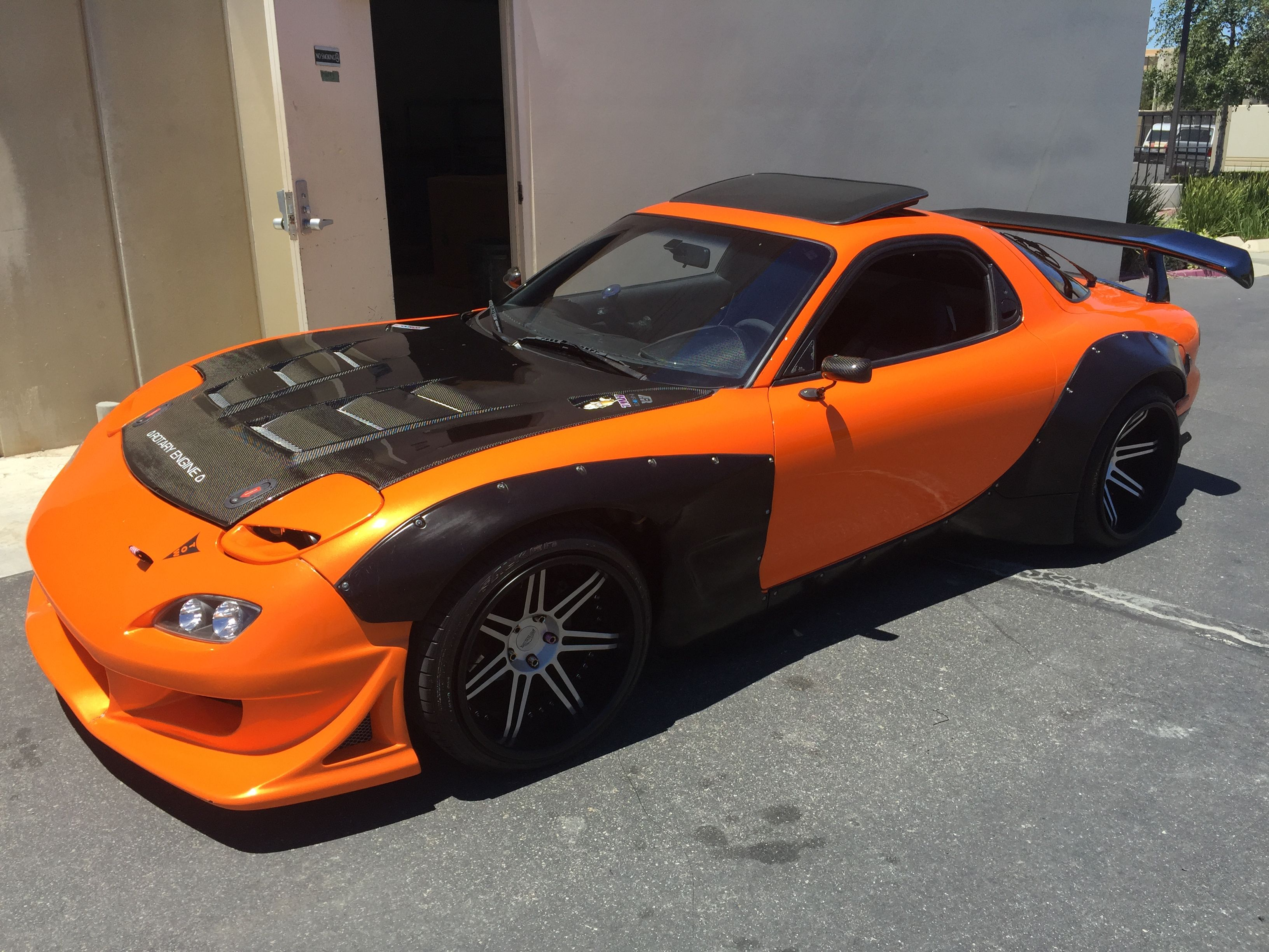 Christian's Orange Mazda RX7 FD3S | My Orange Mazda RX7 and other