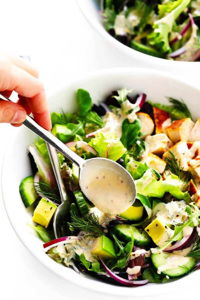 Tahini Ranch Avocado Chicken Salad Recipe Chicken Salad