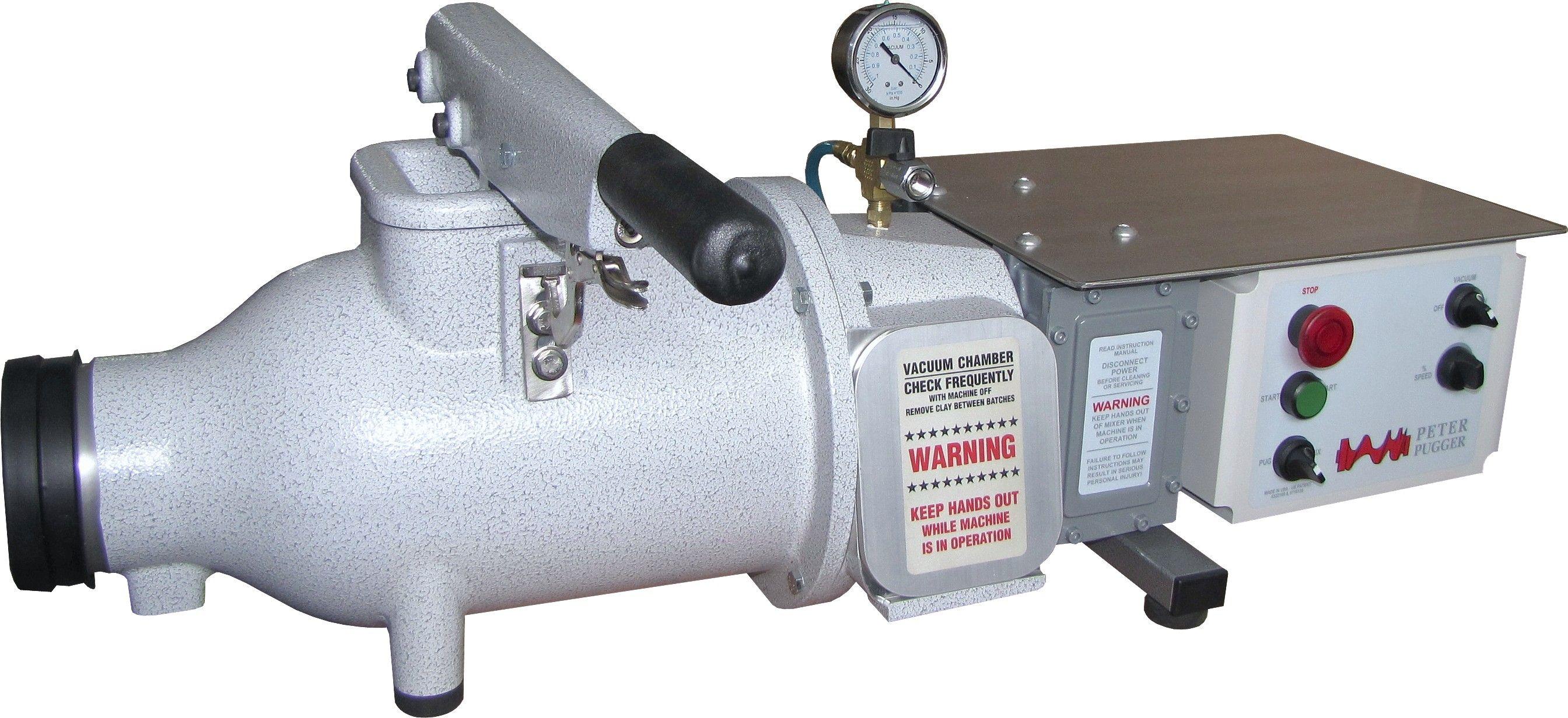 Peter Pugger for clay Vacuums, Vacuum pump, Diaphragm pump