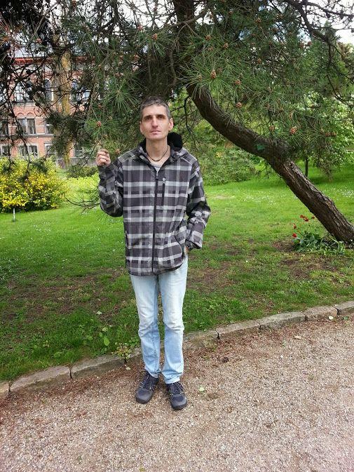 At Botanical Garden.