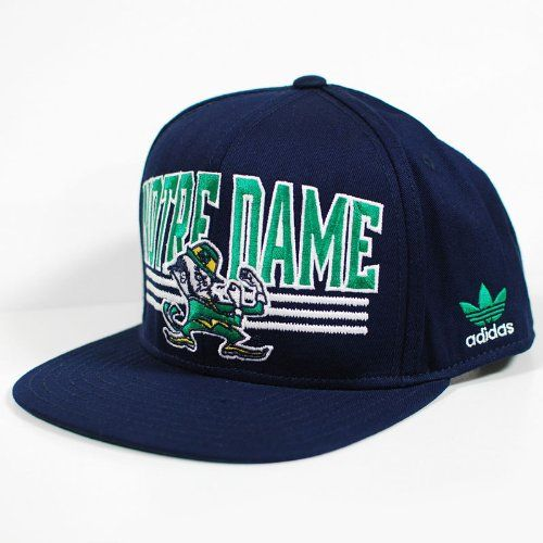b017f7e24 Notre Dame Flat Brim | Cool Notre Dame Fan Gear | Flat bill hats ...