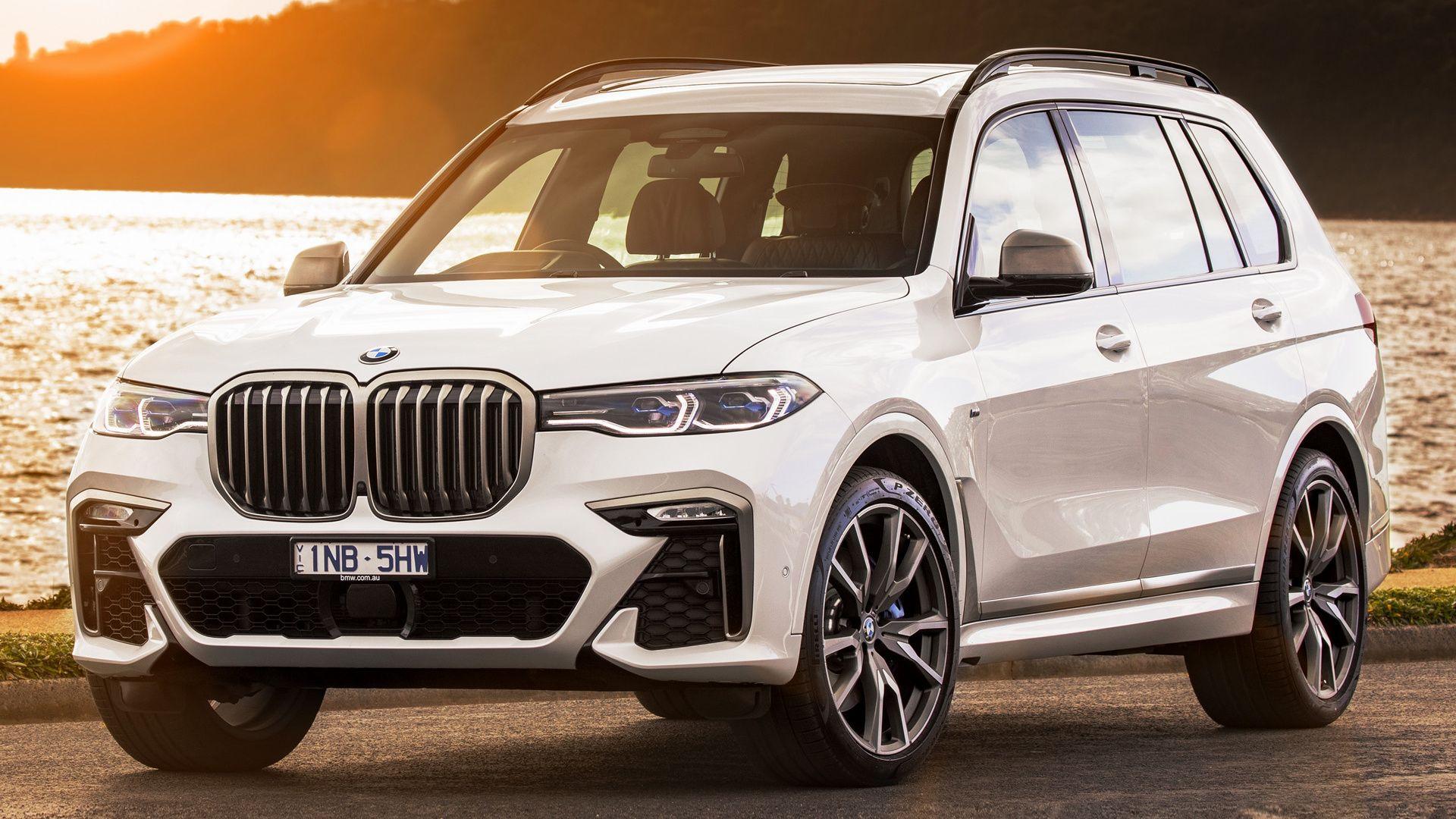 Vehicles Bmw X7 M50d Bmw Full Size Car Suv Luxury Car White Car