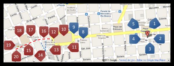 Roteiro de 3 dias em Montevidéu   1º Dia – parte II