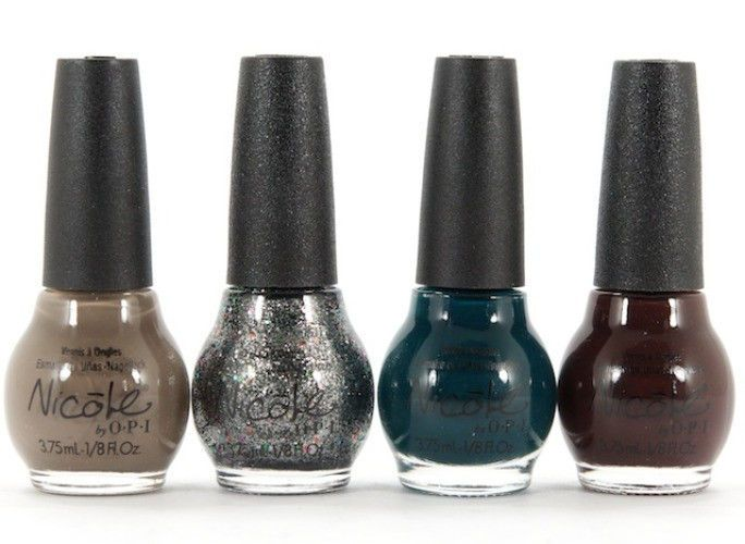 Mini Nail Polish Set 4 colors 3.75mL OPI Nicole Kardashian Kolor ...