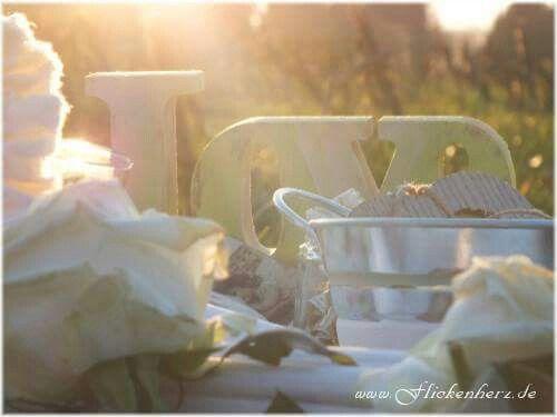 www.Flickenherz.de  Dekoration für den Frühling mit tollen Ideen im Landhaus und Shabby chic