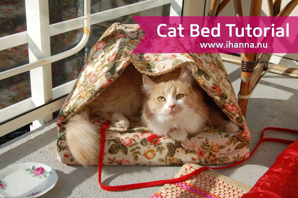 Delightful DIY Pet Gifts Diy cat bed, Your pet, Cat basket