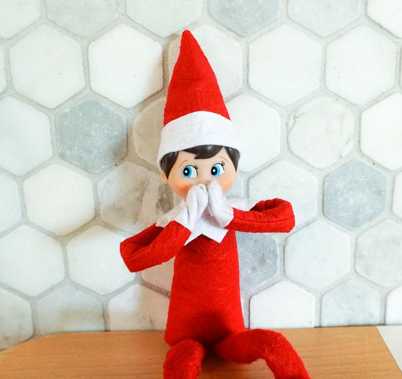 How to Make Your Elf on the Shelf More Poseable Us