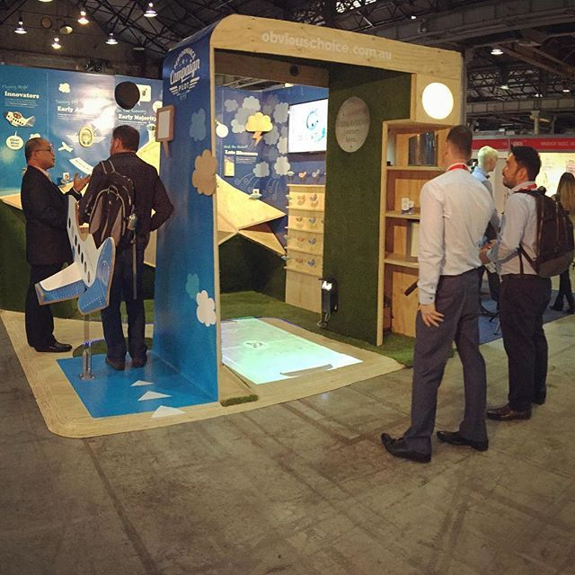 My Exhibition Design by Brenden Bates at Work20 conference and