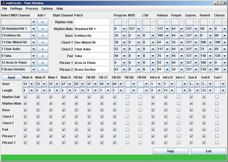 JoSoSoft - midi2style: midi2style is a software program for