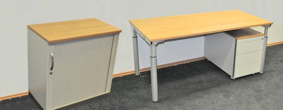 Büromöbel Großposten 3 von König & Neurath in akazie