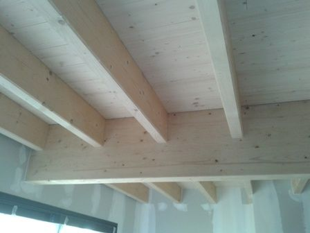 solivage et plancher de la maison bois Maison en ossature bois à