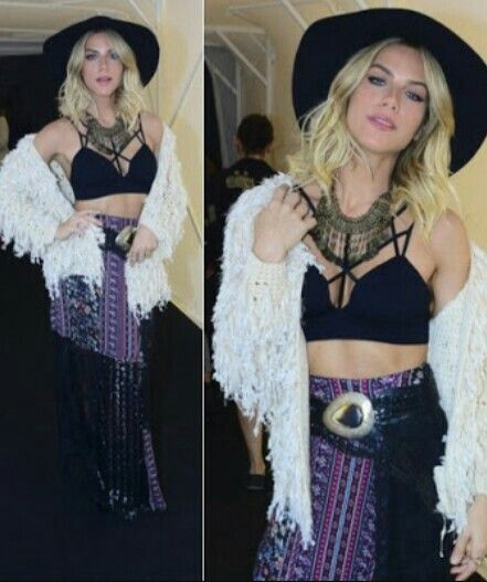 Top cropped + Chapeu