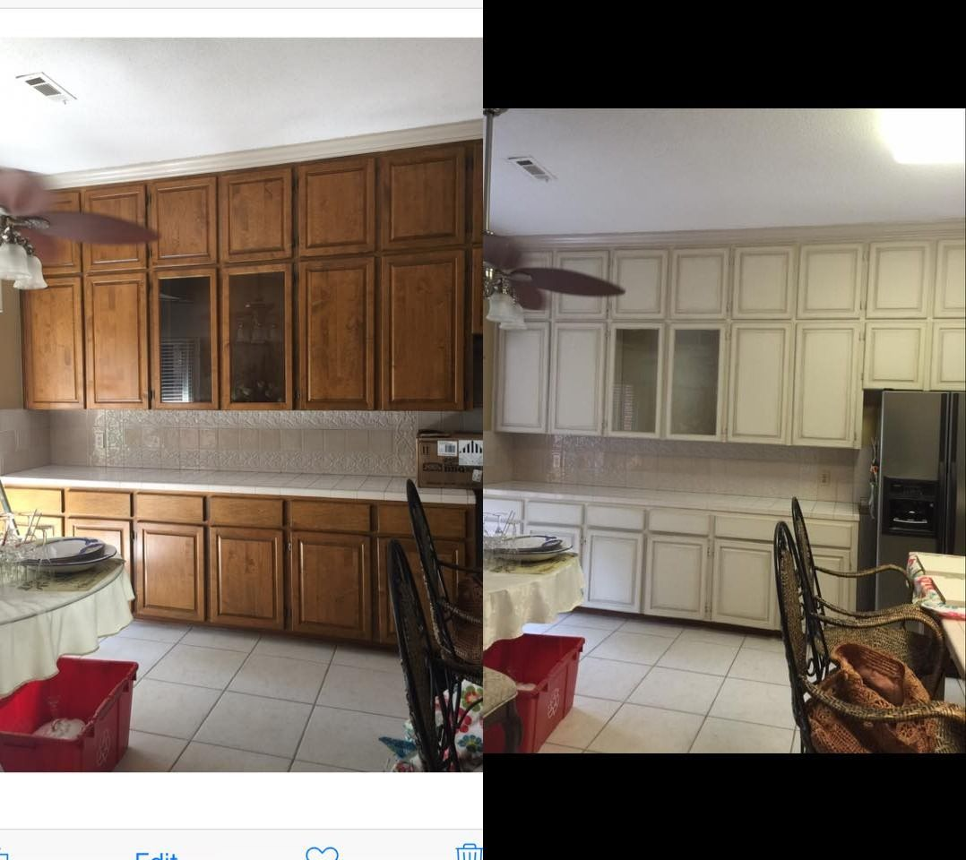 Painting Cabinets Is Easy With Dixie Belle Paint! Drop