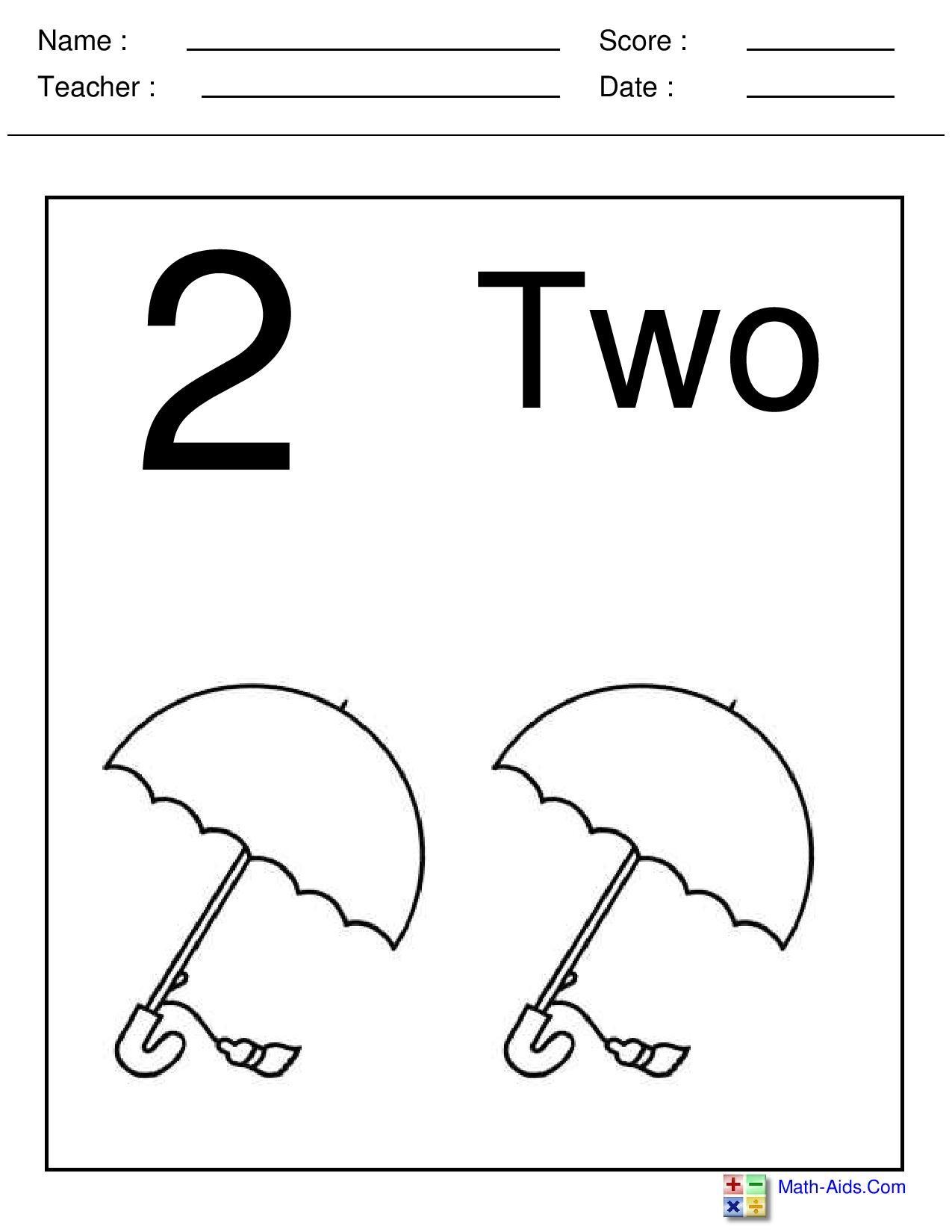 Best 3 Math Worksheets For Kindergarten