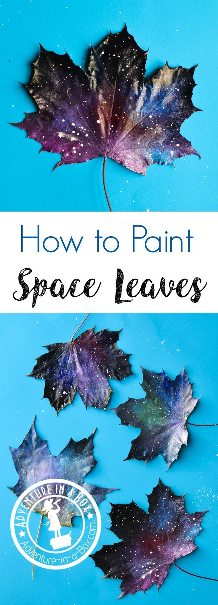 Painting Space Leaves with a Sponge