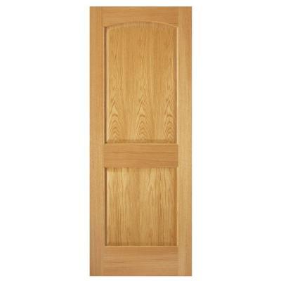 Steves Sons 24 In X 80 In 2 Panel Arch Solid Core Oak Interior Door Slab Unfinished Oak Interior Doors Doors Interior Masonite Interior Doors