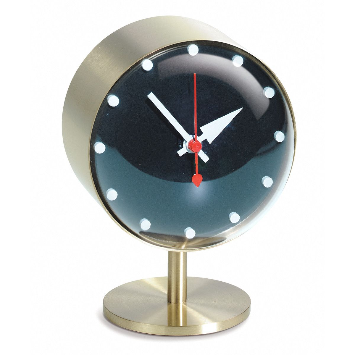Vitra George Nelson Clock - Night Clock - With the diversity of materials  used and their sculptural shapes, George Nelson's clocks embody the joie de  vivre ...