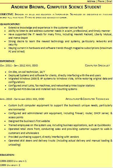 Student Resume Format HttpWwwResumeformatsBizStudentResume