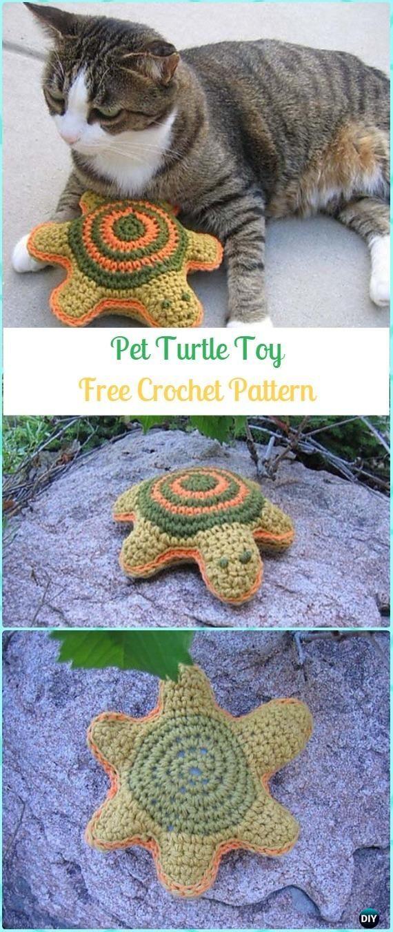 Amigurumi Crochet Pet Turtle Toy Turtle Free Pattern Crochet Turtle