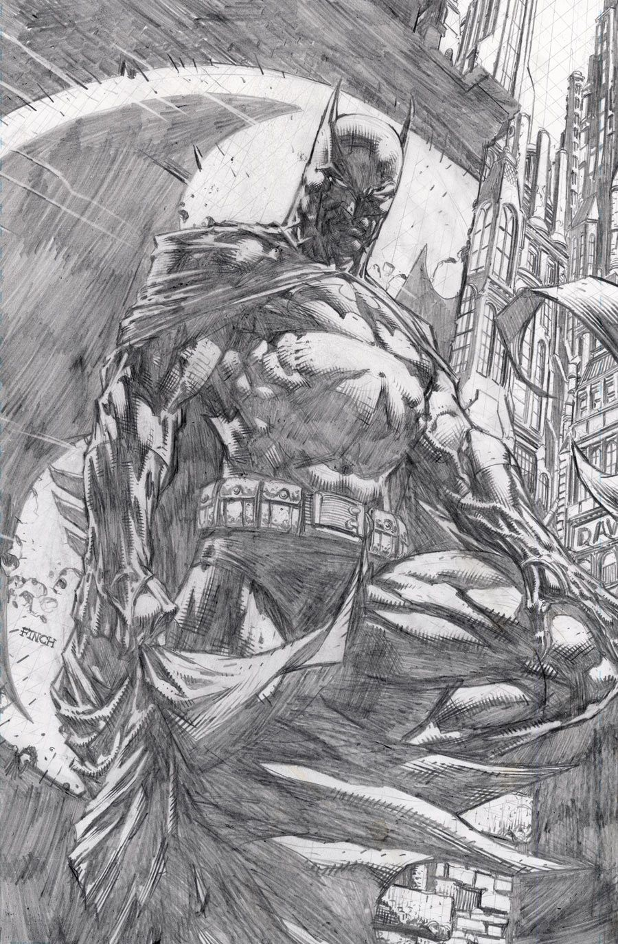 """BATMAN: THE DARK KNIGHT UNWRAPPED BY DAVID FINCH DELUXE EDITION HC Written by DAVID FINCH, GRANT MORRISON, PAUL JENKINS and JUDD WINICK Art and cover by DAVID FINCH On sale MARCH 25 • 288 pg, B&W, 7.0625"""" x 10.875"""", $34.99 US"""