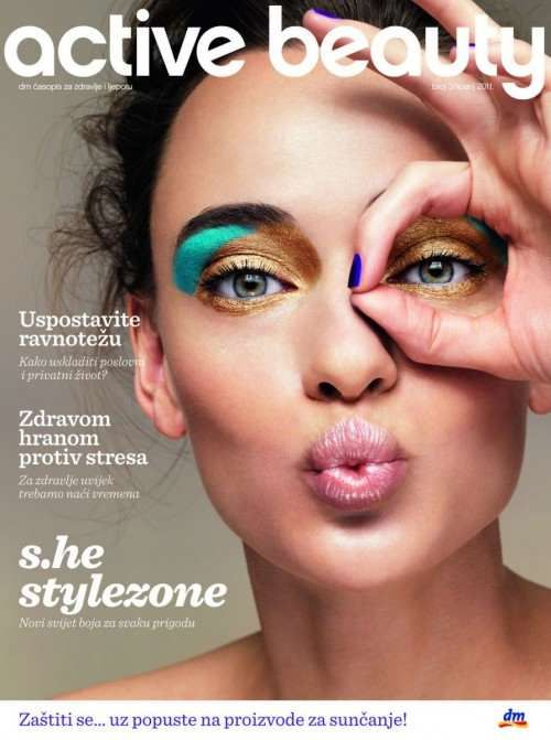 666 Hand Sign Cover Of A Croatian Magazine One Eye Symbolism One