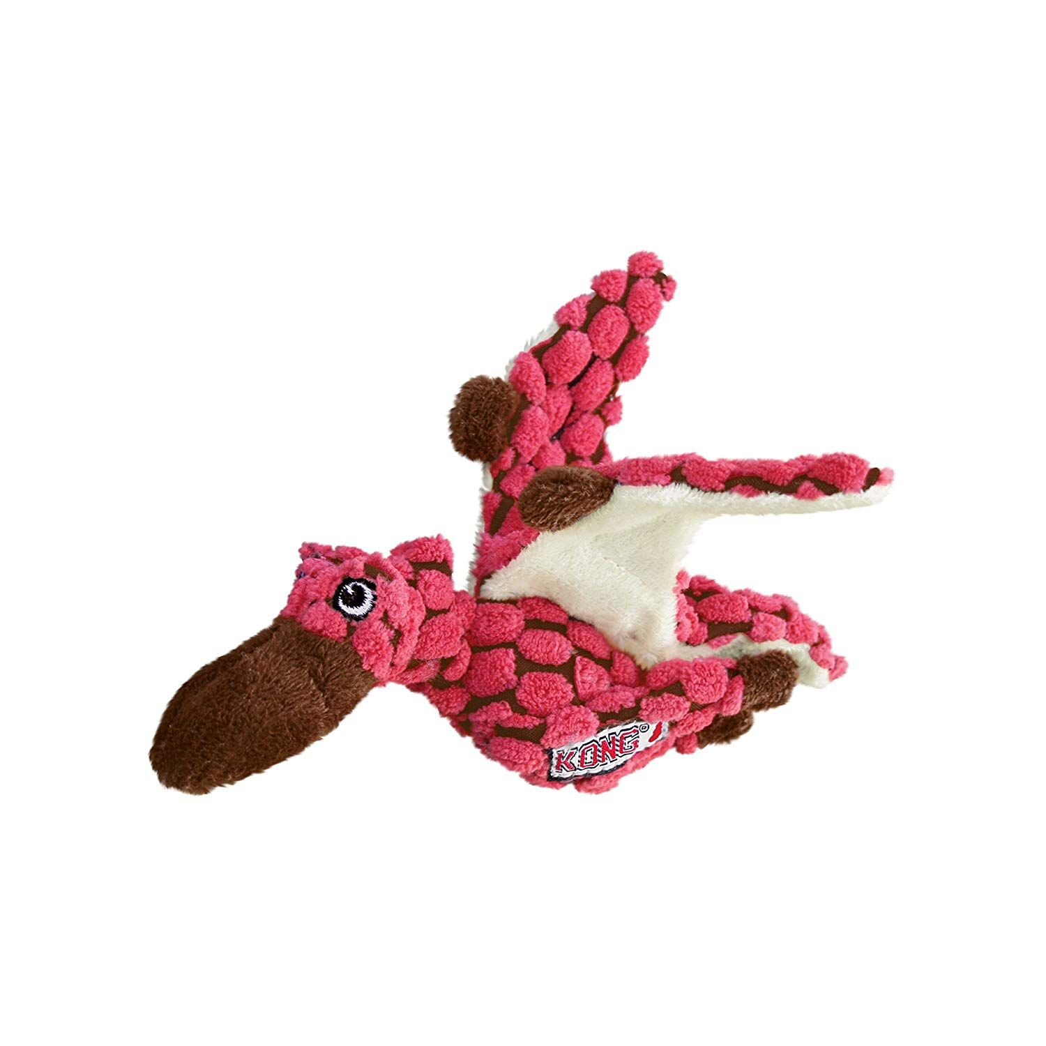 Kong Dynos Pterodactyl Coral Dog Toy X Small Do Hope That You