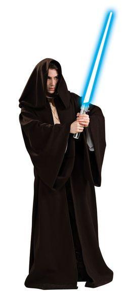 Naamiaisasu; Jedin Kaapu Super Deluxe  Lisensoitu Star Wars Super Deluxe Jedin Kaapu standardikokoisena. Kaapu on aivan kuten elokuvissa käytetyt Jedien kaavut. Olkoon Voima Kanssasi. #naamiaismaailma