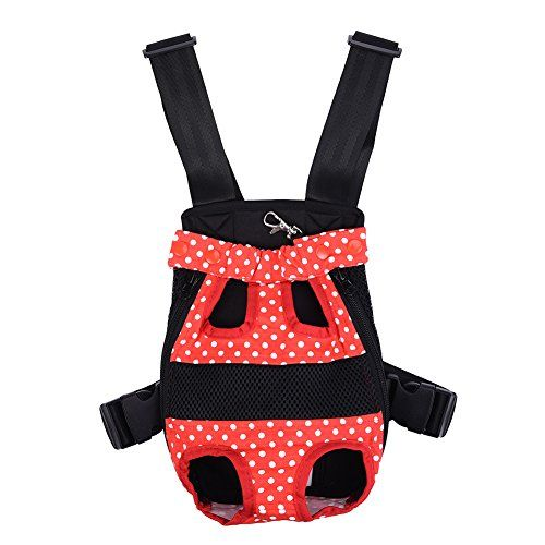 Legs Out Frontfacing Dog Carrier Hands Free Adjustable Pet