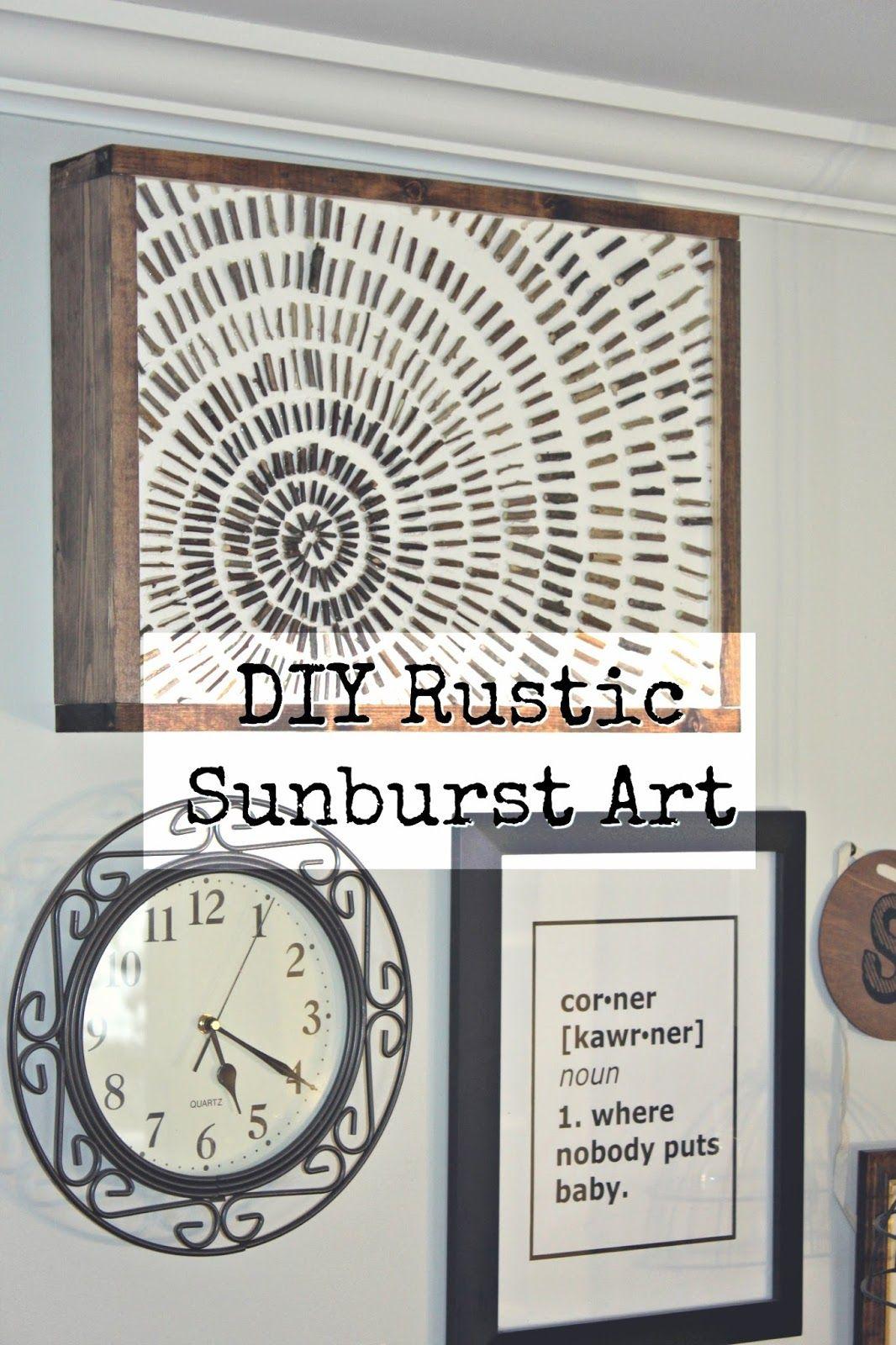 Rustic wall decor custom creative natural materials house