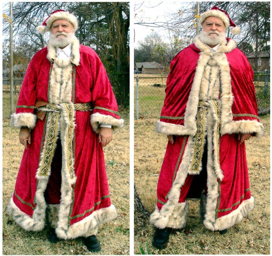 Father Christmas Costume by EruwaedhielElleth Christmas