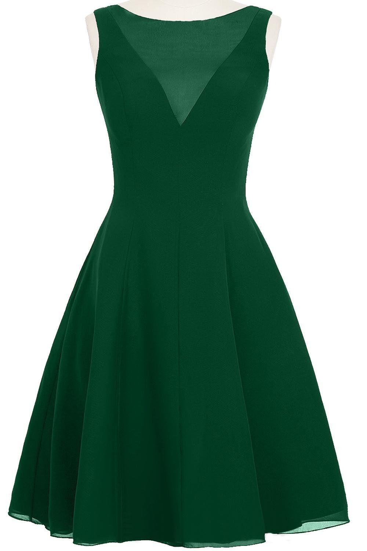 ModernBride Fashion Sexy Short Chiffon Party Summer Dresses Size 2 ...