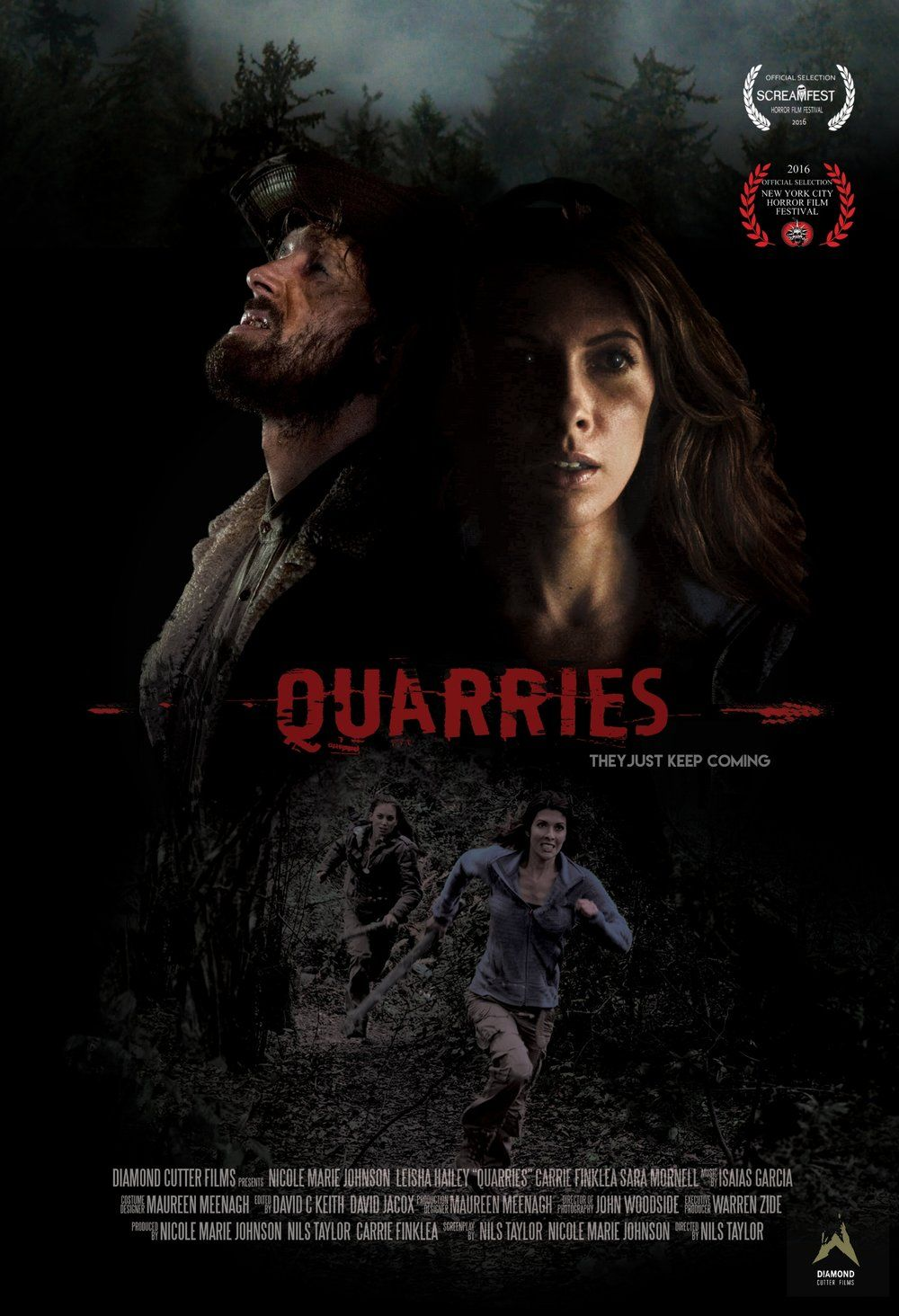 Quarries 2016 Movie Thriller Movie Horror Movies List Horror Movie Posters