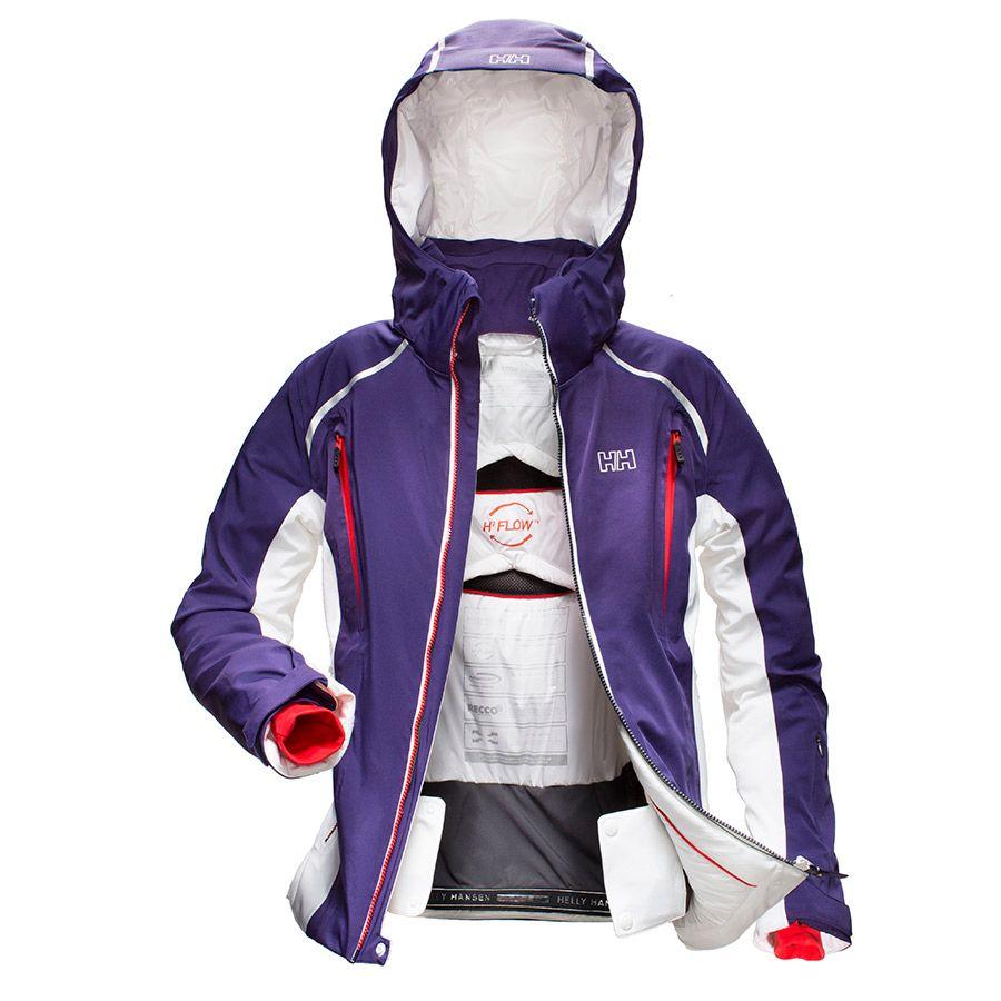 Helly Hansenin Silverqueen Jacket on kaikkea, mitä rinteiden kuningatar voi laskettelutakilta vaatia! Suositushinta 650,00 euroa. #hellyhansen