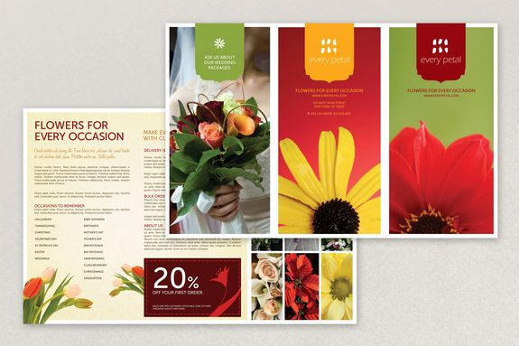 how to create a professional brochure plus 40 superb templates that