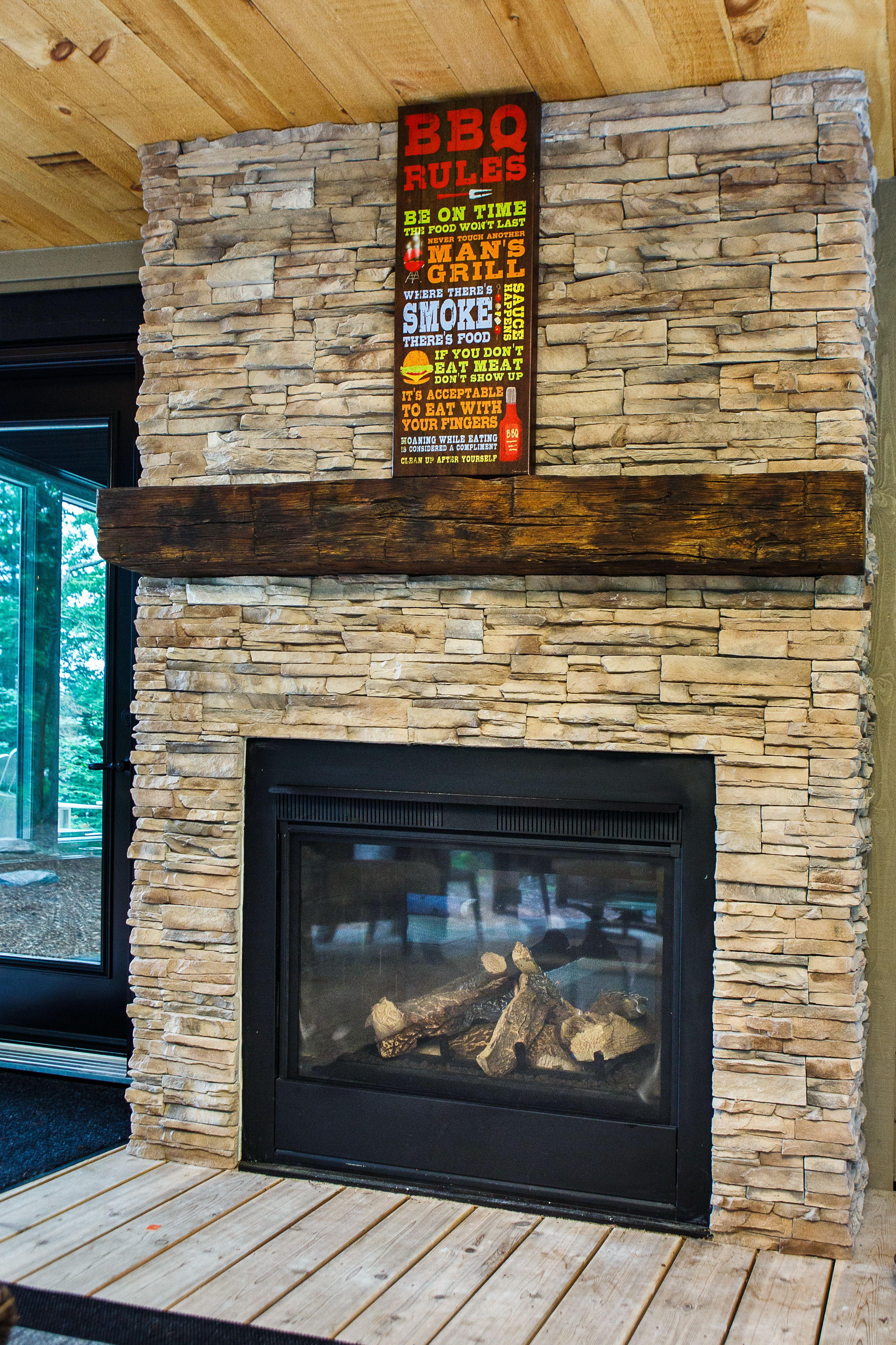 Custom Outdoor Living Space - Custom Stone Outdoor ... on Custom Outdoor Living Spaces id=54658