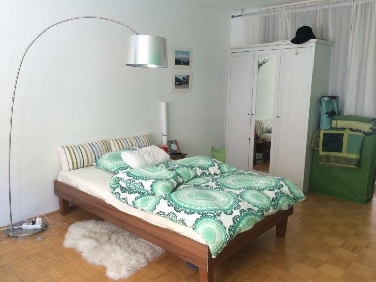 m bliertes 22qm zimmer hell und zentral im 6 bezirk wien mariahilf einrichtungsideen wg. Black Bedroom Furniture Sets. Home Design Ideas