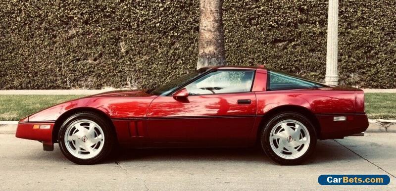 1989 Chevrolet Corvette C4 Chevrolet Corvette Forsale Unitedstates Chevrolet Corvette C4 Corvette C4 Chevy Corvette For Sale