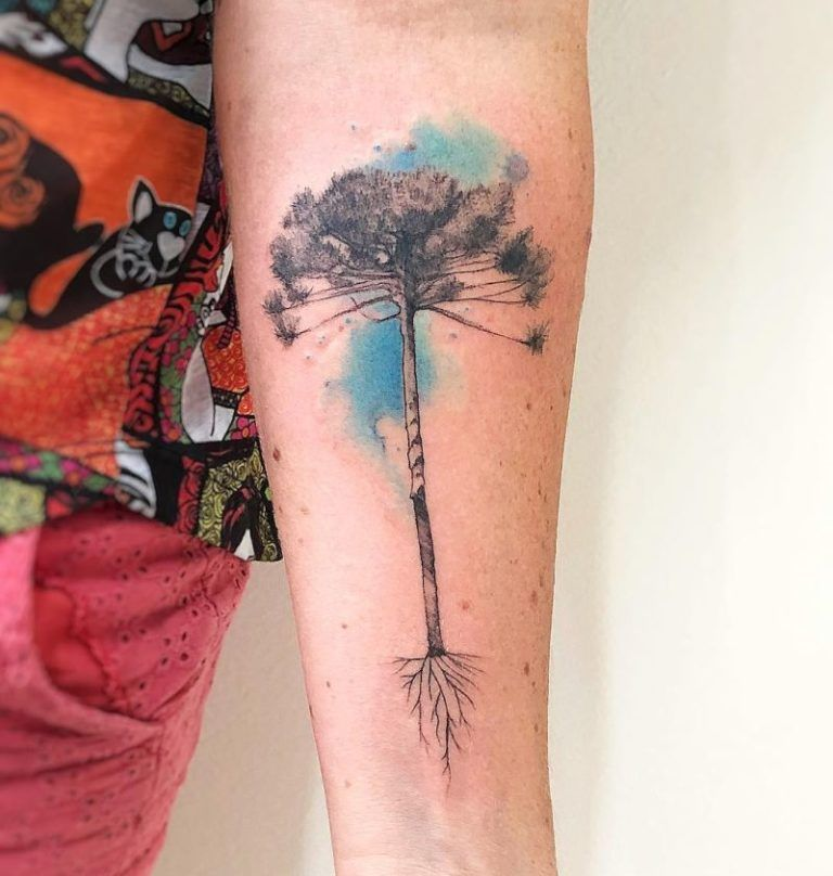 cf62bccb1 50 Gorgeous and Meaningful Tree Tattoos Inspired by Nature's Path - KickAss  Things