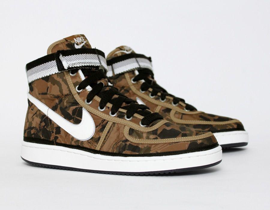 #Nike Vandal Camouflage #Sneakers
