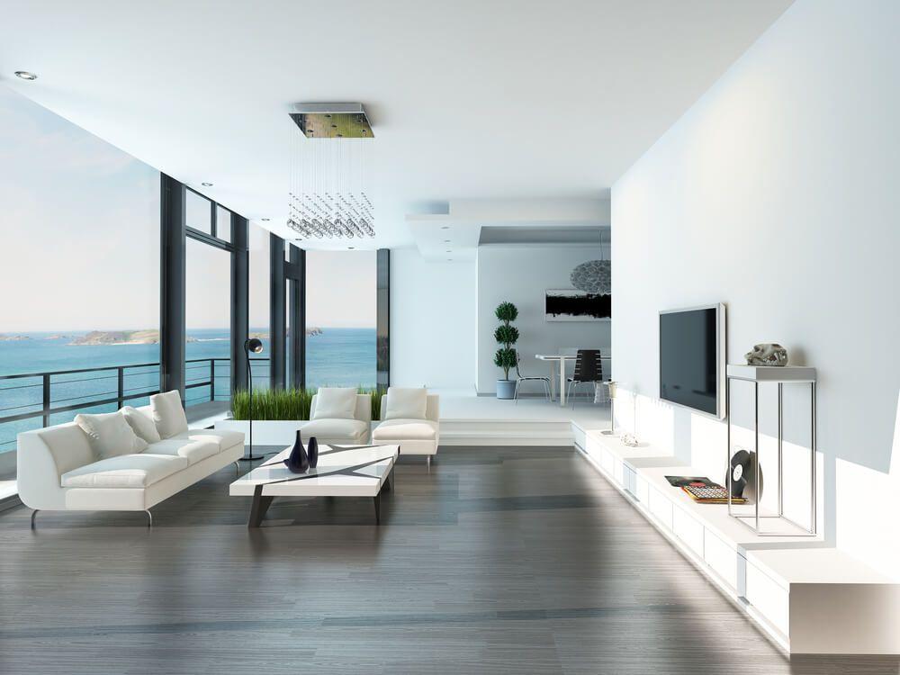 Hardwood Flooring Ideas Living Room Minimalist Entrancing 47 Beautiful Modern Living Room Ideas In Pictures  Dark . Design Ideas