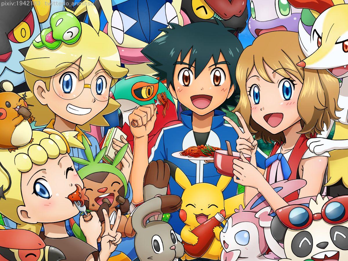 さよならカロス [2]   Pokemon kalos, Pokemon, Pokemon characters