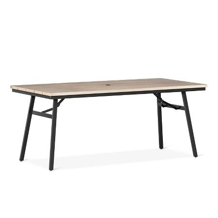Patio Dining Table Thrshd Target Patio Dining Dining Table