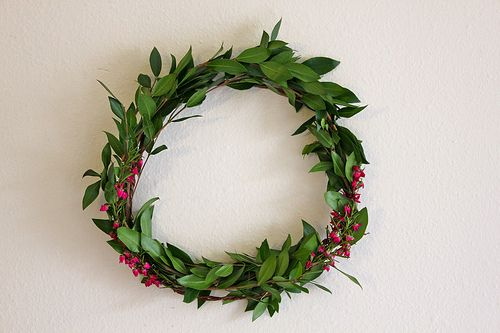 a fresh wreath is my fave on http://www.youaremyfave.com
