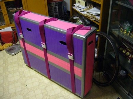 How To Make Your Own Bike Box For Bike Travel Bicycle Travel