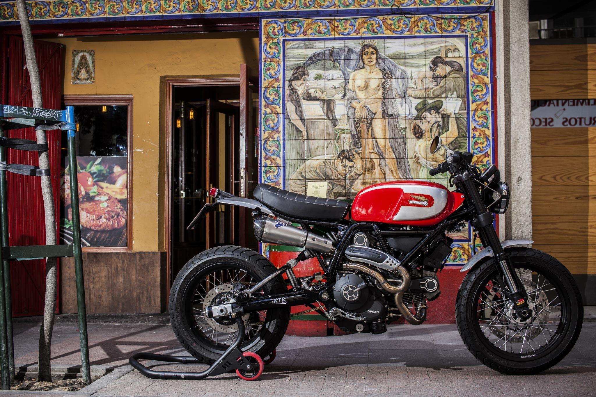 Ducati Scrambler by XTR Pepo