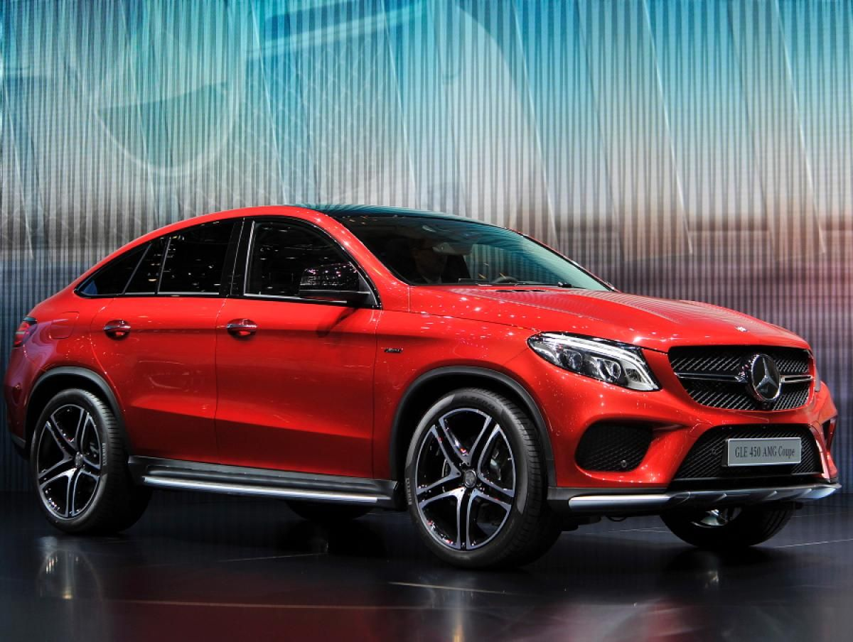 Mercedes Benz GLE 450 AMG 4Matic Coupe s Geneva Motor Show